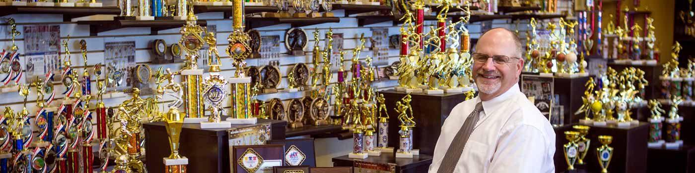 Keith Baldwin, Spike's Trophies: Discover the value of membership here »